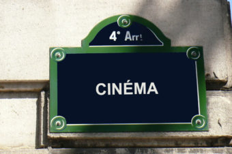 Paris e o cinema